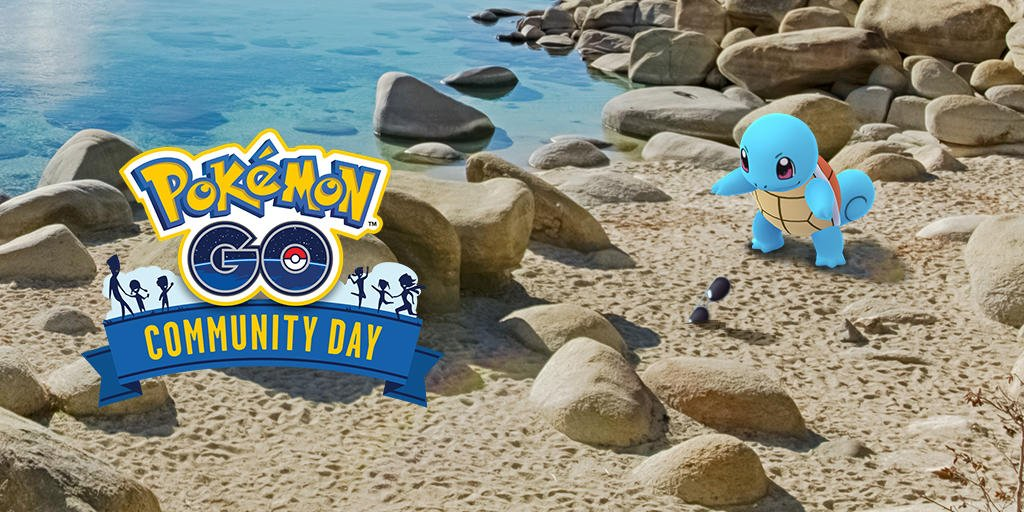 squirtle speciale per il community day