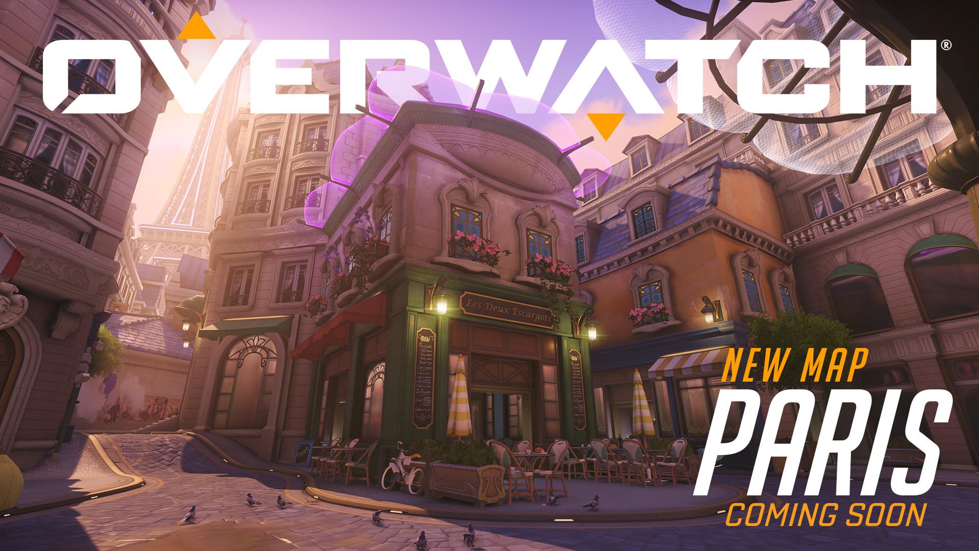 Overwatch: Nuova mappa Parigi
