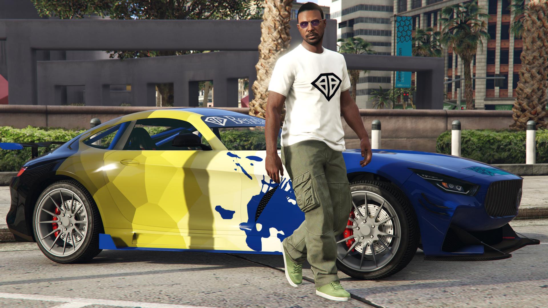 le attività da GTA $ doppi e la nuova Sportiva Benefactor Schlagen GT
