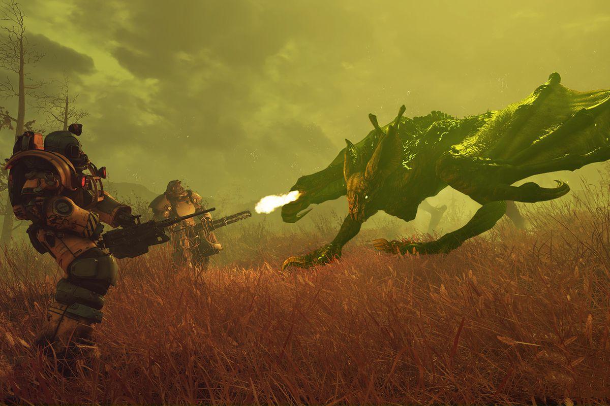 Fallout 76: ritocchi in arrivo per la Bestia Ardente.