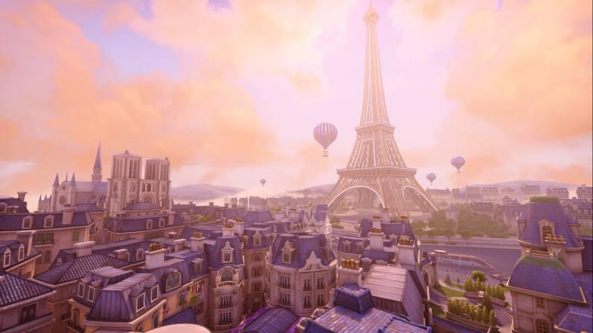 Overwatch: mappa di Parigi ora disponibile!