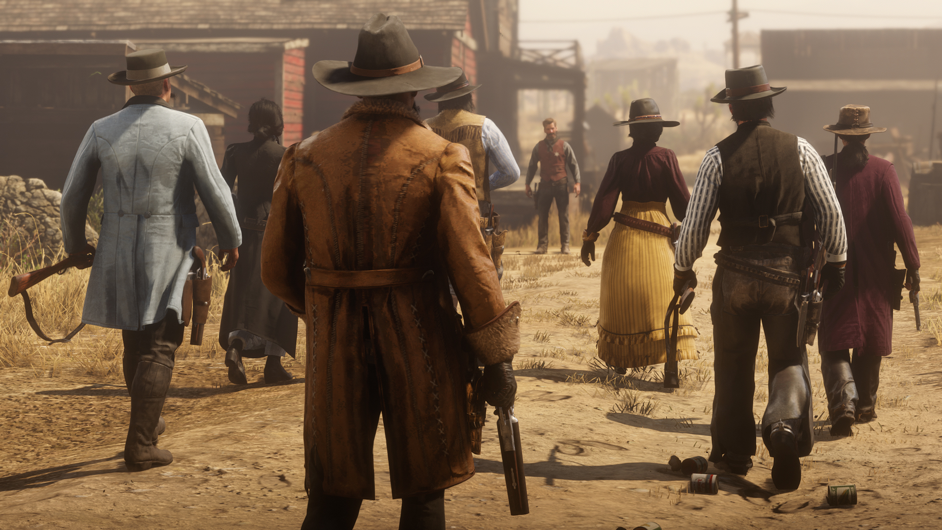 Red Dead Online: Pesca competitiva, modalità Showdown e molto altro.
