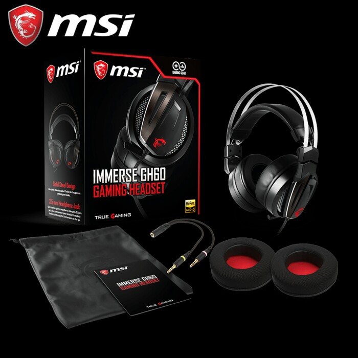 Recensione Gaming Headset Immerse GH60 MSI.